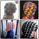 Crocodile Crochet Bonnets eBooks - Dearest Debi Patterns
