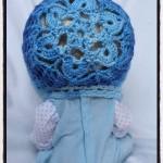 Snow Flower Bonnet - Dearest Debi Patterns