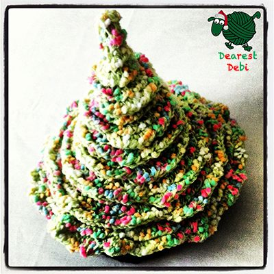Crochet Christmas Tree Hat - Dearest Debi Patterns