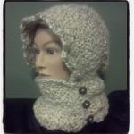 Crochet Hooded Infinity Scarf with Buttons - Dearest Debi Patterns