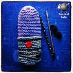 Crochet Star Wars Lightsaber Pencil Case - Dearest Debi Patterns