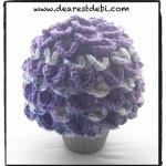 Crocodile Crochet Adult Beanie - Dearest Debi Patterns