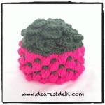 Crocodile Crochet Berry Beanie - Dearest Debi Patterns