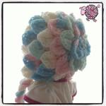 Crocodile Crochet Bonnet - Dearest Debi Patterns