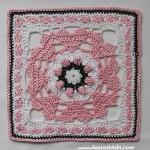 Love Garden Granny Afghan Block - Dearest Debi Patterns
