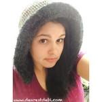Faux Fur Ribbed Crochet Hood - Dearest Debi Patterns