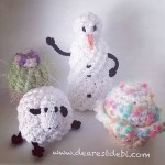Christmas in July Lip Balm Snowman - Dearest Debi Patterns