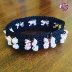 Crochet Butterfly Flutterby Headband - Dearest Debi Patterns