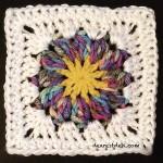 Sun Flower Square - Dearest Debi Patterns