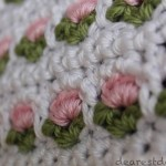 Crochet Window Flower Stitch - Dearest Debi Patterns