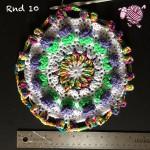 Butterfly Garden Octagon Round 10 - Dearest Debi Patterns