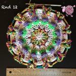 Butterfly Garden Octagon Round 12 - Dearest Debi Patterns