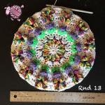 Butterfly Garden Octagon Round 13 - Dearest Debi Patterns