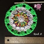 Butterfly Garden Octagon Round 5 - Dearest Debi Patterns