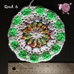 Butterfly Garden Octagon Round 6 - Dearest Debi Patterns