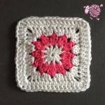 Crochet Butterfly Garden Octagon Square - Dearest Debi Patterns