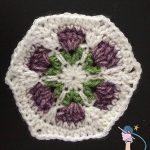 Crochet Flower Garden Hexagon - Dearest Debi Patterns