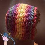 Zinnia Layered Flower Bonnet - Dearest Debi Patterns