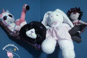 Crochet Cordial Toy Hammock - Dearest Debi Patterns