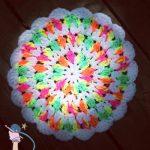 Crochet Dish Pan Pin Wheel - Dearest Debi Patterns