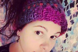 Crochet Waves Messy Bun Ponytail Hat - Dearest Debi Patterns