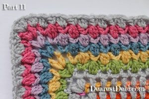 Garden Romp Crochet Along 2017 Part 11 - Dearest Debi Patterns