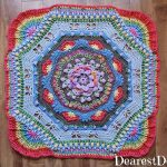 Garden Romp Crochet Along 2017 Part 7 - Dearest Debi Patterns