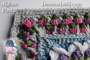 Girly Afghan CAL Afghan Part 2 - Dearest Debi Patterns