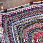Girly Afghan CAL Afghan Part 5 - Dearest Debi Patterns
