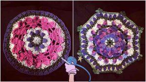 Crochet Afghan Puzzle Pieces - Dearest Debi Patterns